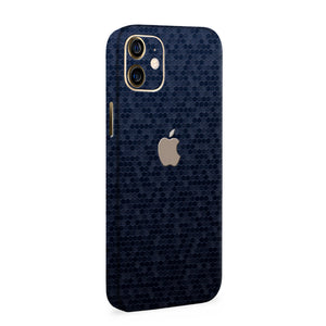 Normout Skin Honeycomb Blue | Apple iPhone 12 Mini Skin | Normout.com