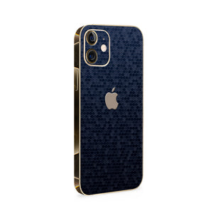 Normout Skin Honeycomb Blue | Apple iPhone 12 Skin | Normout.com