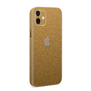 Normout Skin Honeycomb Gold | Apple iPhone 12 Skin | Normout.com