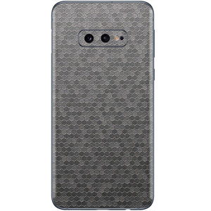 Normout Skin Honeycomb Silver | Samsung Galaxy S10e | Normout.com