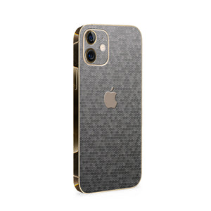 Normout Skin Honeycomb Silver | Apple iPhone 12 Mini Skin | Normout.com
