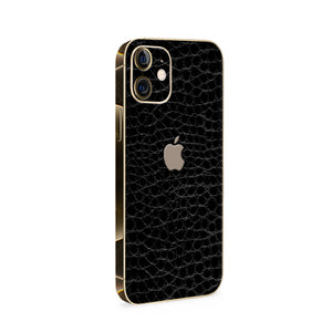 Normout Skin Kroko Black | Apple iPhone 12 Skin | Normout.com