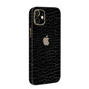 Normout Skin Kroko Black | Apple iPhone 12 Mini Skin | Normout.com