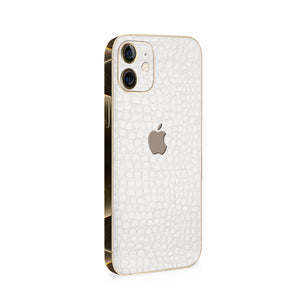 Normout Skin Kroko White | Apple iPhone 12 Mini Skin | Normout.com