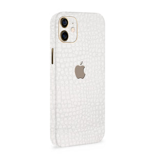 Normout Skin Kroko White | Apple iPhone 12 Skin | Normout.com