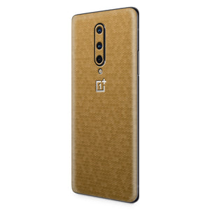 Normout Skin Honeycomb Gold | OnePlus 8 | Normout.com