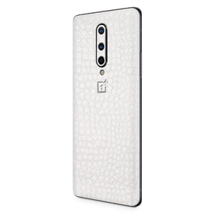 Normout Skin Croco White | OnePlus 8 | Normout.com