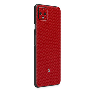 Normout Skin Carbon Red | Google Pixel 4 XL | Normout.com
