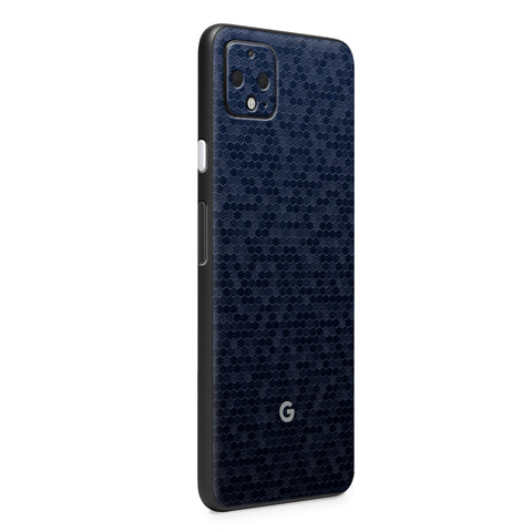 Normout Skin Honeycomb Blue | Google Pixel 4 XL | Normout.com