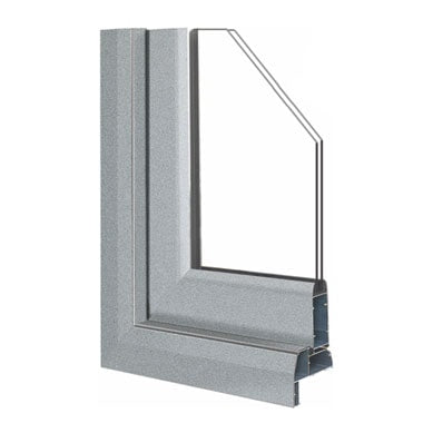 casement door section