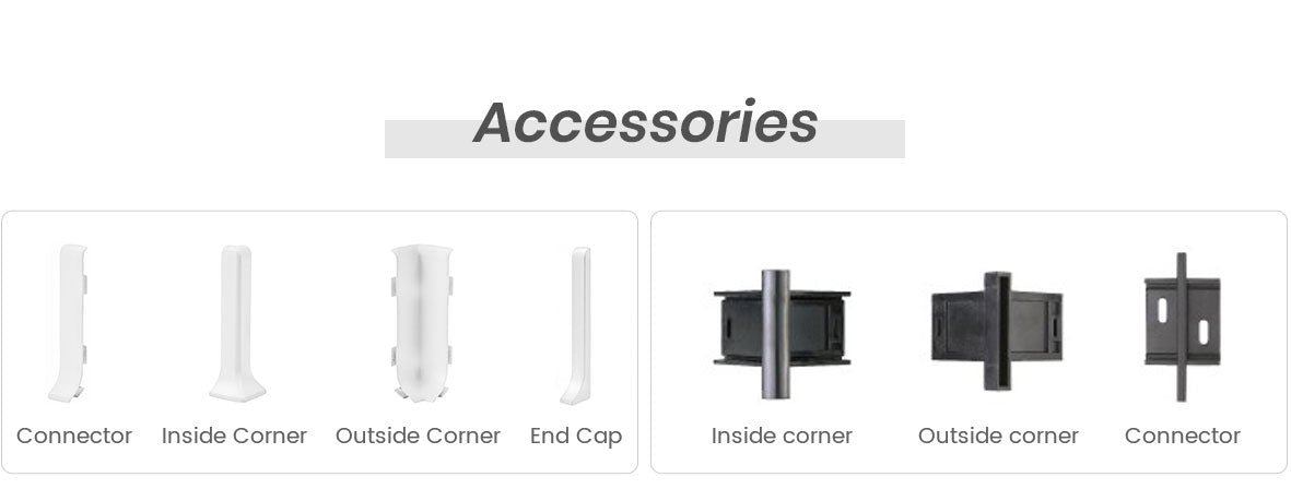 skirting board accessories
