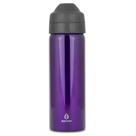 600ml Drink Bottle - Leak-Free - Purple Amethyst