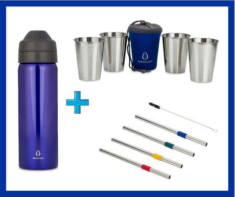 Ultimate Stainless Steel Drink-Ware bundle