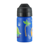 Dino kids kindy leak free drink bottle