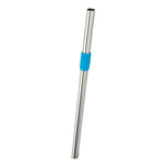 Stainless Steel Straw - Topaz Blue