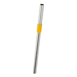 Stainless Steel Straw - Golden Amber
