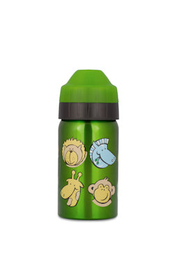 Ecococoon 350 ml stainless steel vacuum insulated drink bottle - Zoo Friends