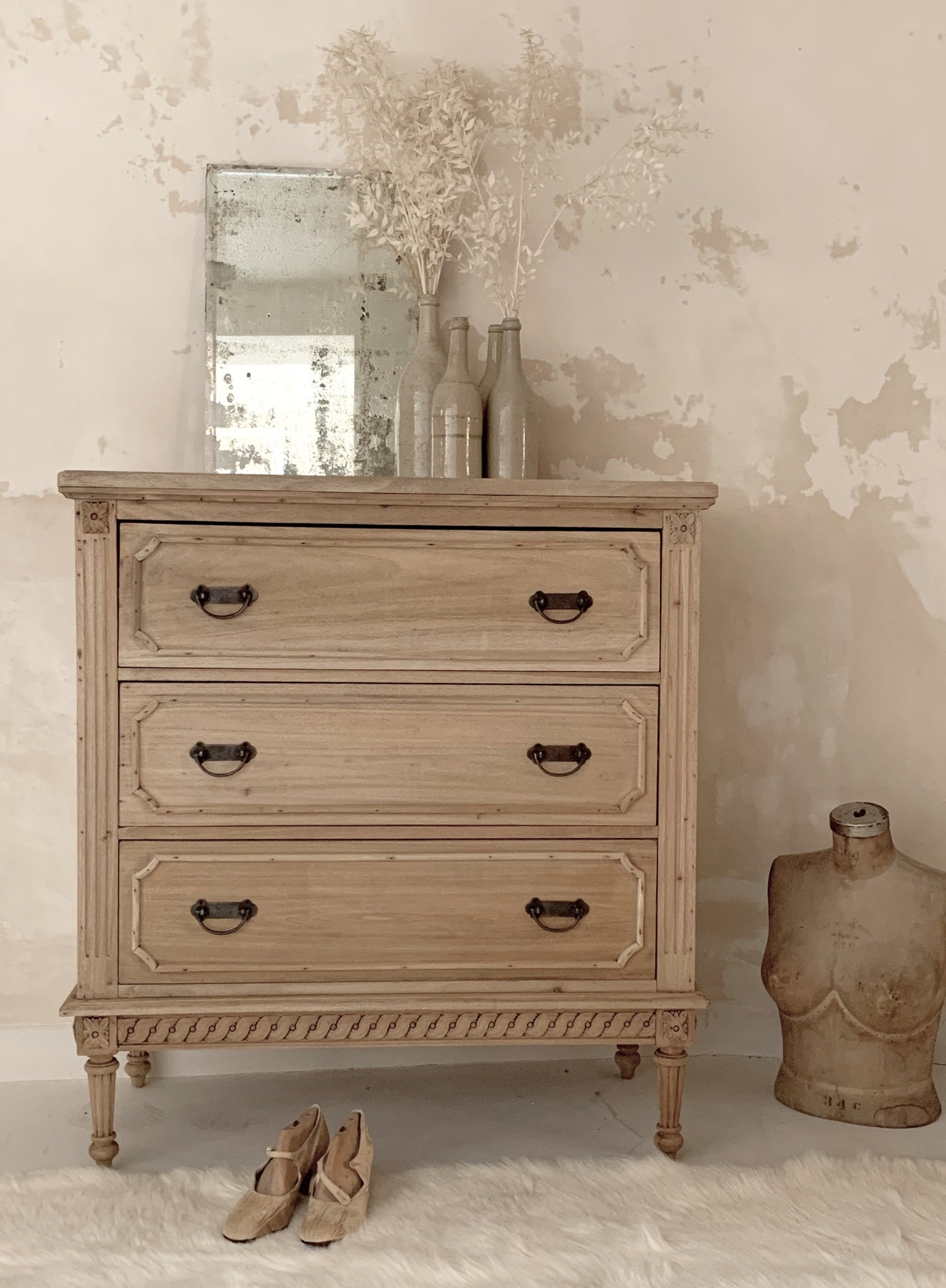 Solid Wood Chest of Drawers