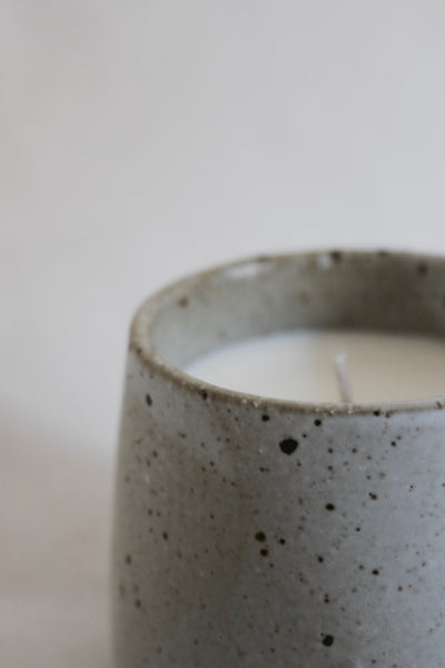 Sea Salt and Coconut Scented Candle
