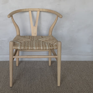 Shoreditch Chair with Rush Seat