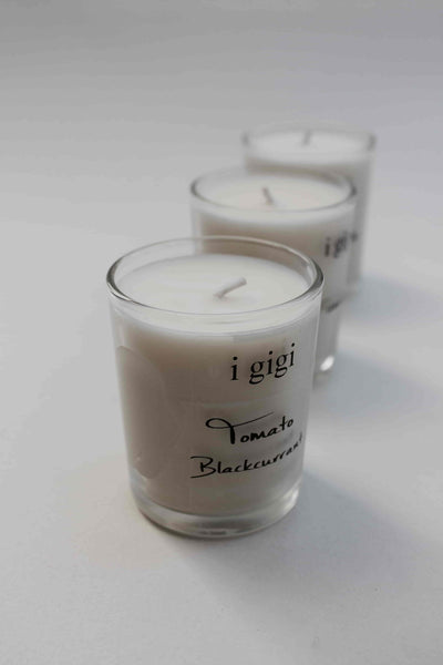 i gigi Box Set of Three Small Scented Candles