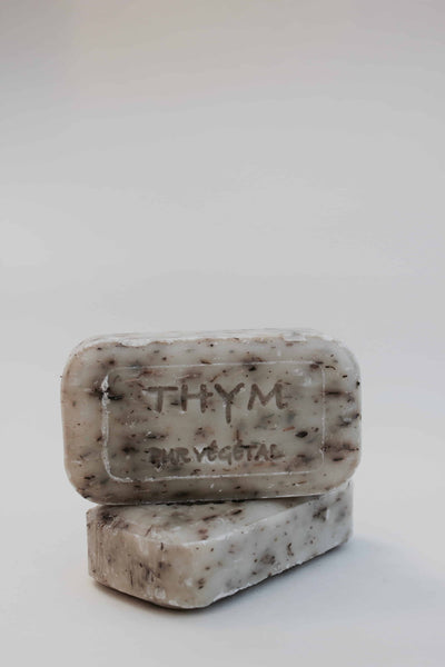 French Handmade Vegan Thyme Soap Bar