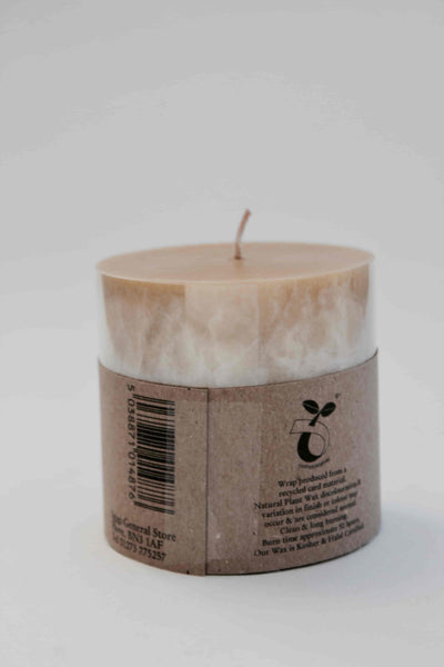 Golden Moroccan Spice Fragrance Oil Scented Candle (Small)