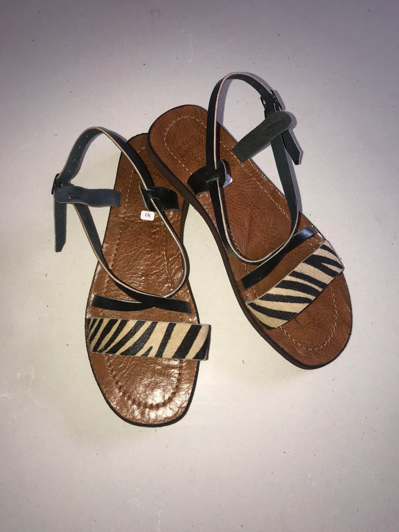 Sandals - Animal Cross Strap