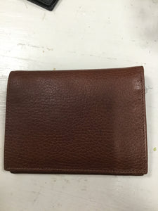 Leather Folding Wallet (Large)