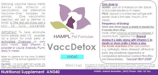 AN040 - Vaccine injection side effects called - Vaccinosis. Detox from side effects of vaccination (heavy metal poisoning)