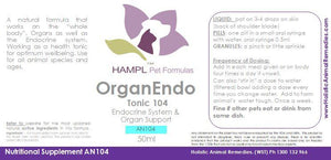 AN104 - Organ Endocrine Tonic for all species