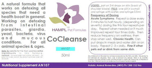 AN107 - Complete Cleanse Homeopathic - all ages and species.