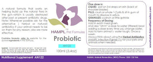 AN122 - Probiotic for all species (homeopathic form)