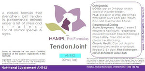 AN142 - Tendon Repair and strengthening all species