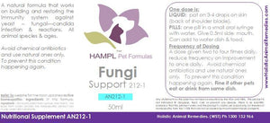 AN212 - Ear Infection - fungal yeast ear infection - fungal strains like Sporotrichosis, Malassezia, Leishmania, Cryptococcus, Aspergillus spp, Candida, Corynebacterium for all species