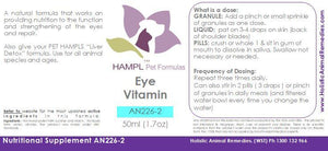 AN226 - Eye - Dry Eyes, Cherry Eye, Chalazion Cyst, Keratitis