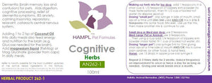 AN262 Behavior - Cognitive (CDS), confusion, restless, dementia & alzheimer, brain damage.