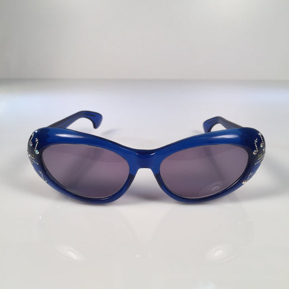 Cat-Eye Musical Blue Notes Frame Italy