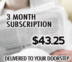 3 Month Home Delivery - Kingsport Times-News. Includes Digital Edition access! (with $4 Activation Fee price is $47.25)