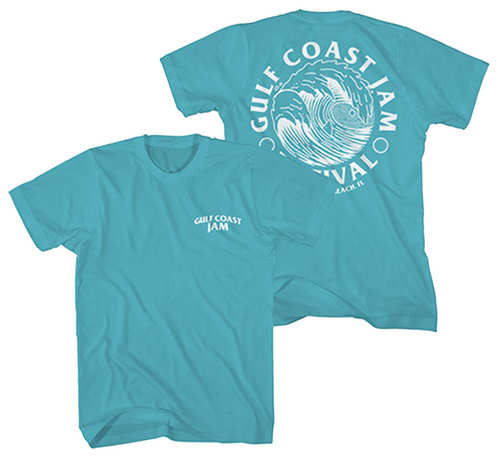 Gulf Coast Cool Green Tee