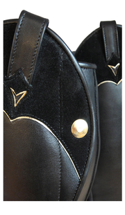 The Classy Cowgirl Black/Gold - Custom Order