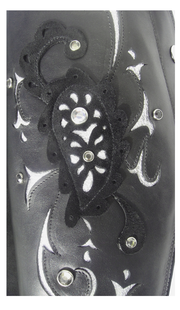 Paisley Dressage Black - Custom Order