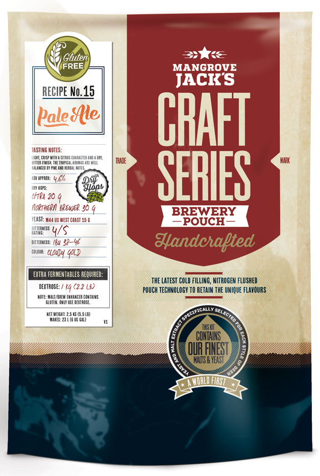 MJ Craft Series Gluten Free Pale Ale Pouch