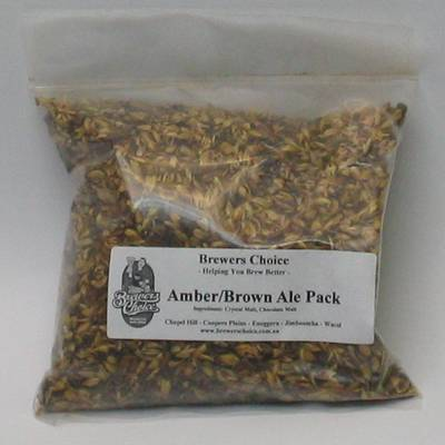Amber and Brown Ale Grain Pack