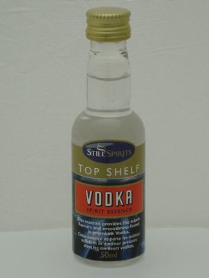Top Shelf Vodka Essence