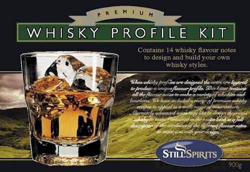 Whisky Profile Kit Recipe Book