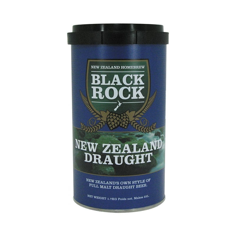 Black Rock New Zealand Draught