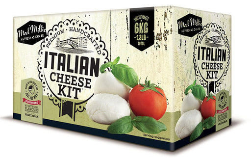 Mad Millies Beginners Italian Home Cheese Making Kit