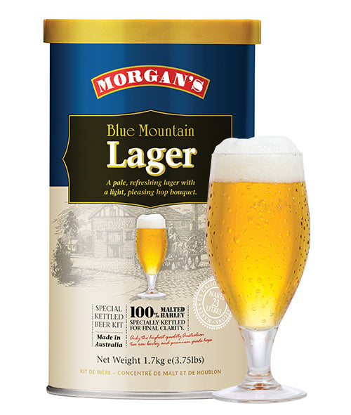 Morgans - Blue Mountain Lager 1.7kg