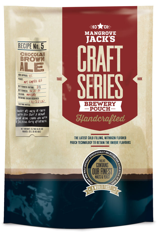 Mangrove Jack's Craft Series Choc Brown Ale